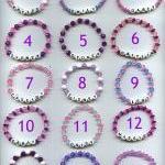 Custom Beaded Name Bracelet, any na..